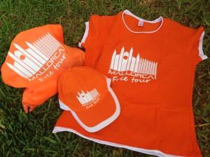 Camisetas naranjas Guias Palma