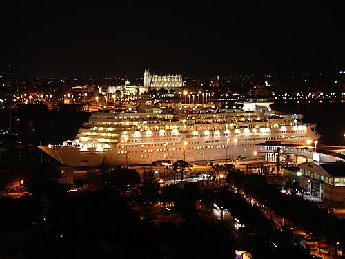 Crucero en el Puerto de Palma