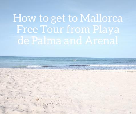 from Playa de Palma and Arenañ