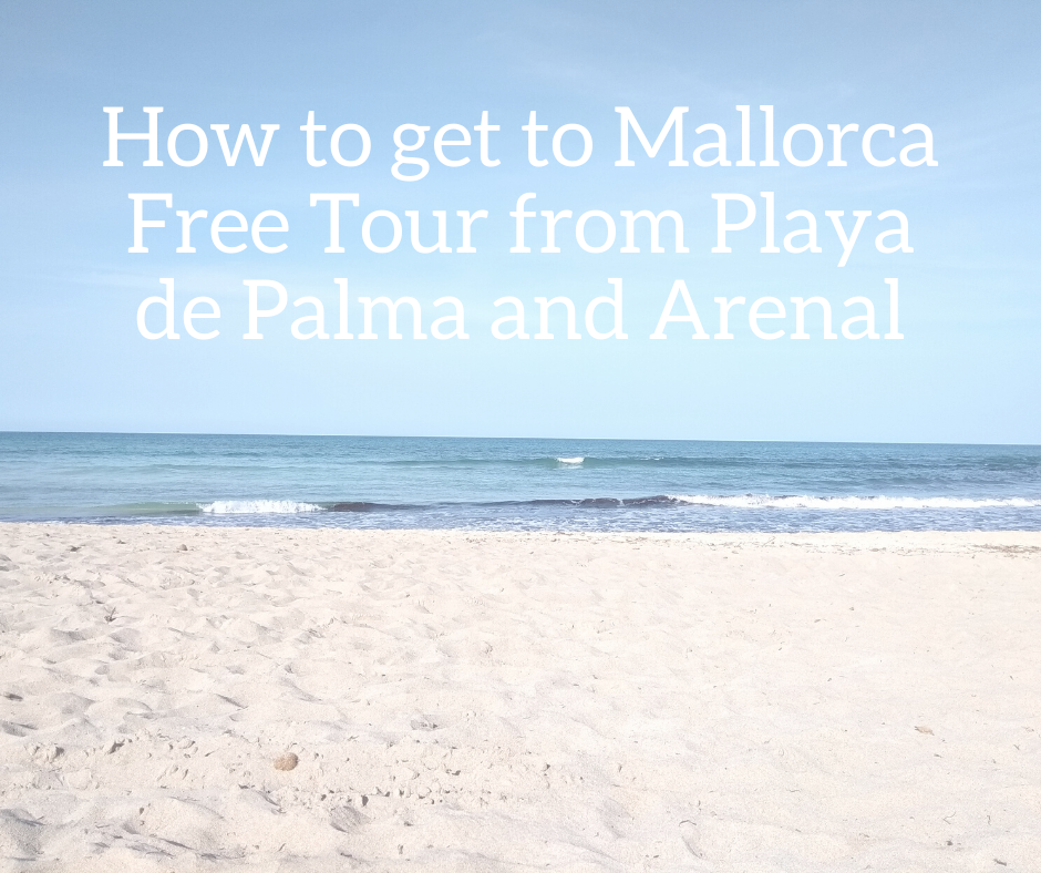 from Playa de Palma and Arenañ